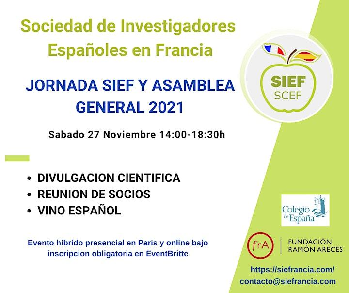 Image pour Jornada SIEF-SCEF y Asamblea General 2021
