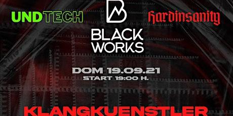 Undtech | Hardinsanity | Blackworks presentano Klangkuenstler biglietti