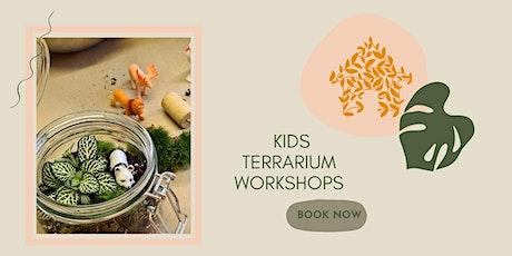 Kids Terrarium Workshop tickets