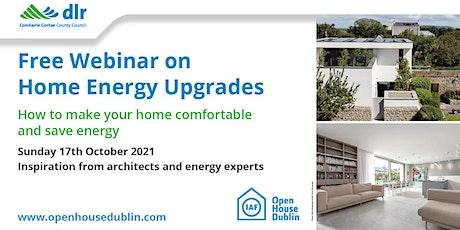 Home Energy Upgrade Webinar tickets