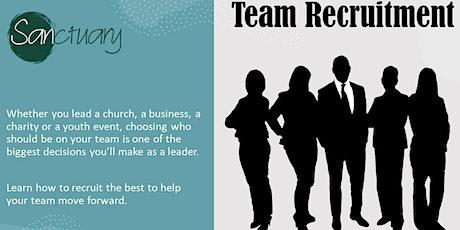 Team Recruitment tickets