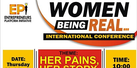 EPI WOMEN BEING REAL ANNUAL CONFERENCE tickets