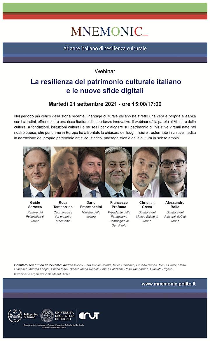 Immagine La resilienza del patrimonio culturale italiano e le nuove sfide digitali