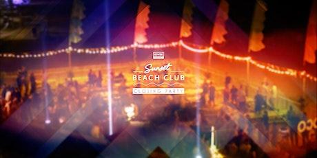Sunset Beach Club Closing Party tickets