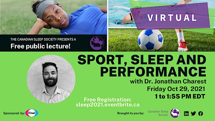 Sleep&Sleep disorders - FREE Public Lectures  & Patient Engagement Sessions image