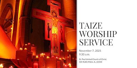 Taize Worship Service tickets