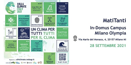 MATITANTI @In-Domus Campus Milano Olympia - 28.09 1° turno | Buji biglietti