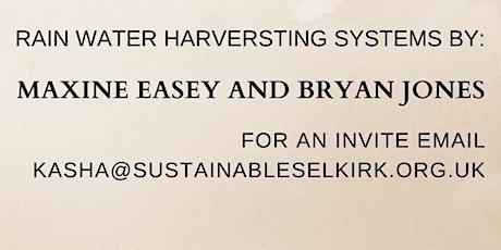 Rain Water Harvesting tickets