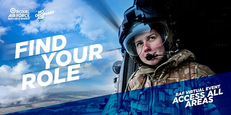 RAF Virtual Event Access All Areas tickets