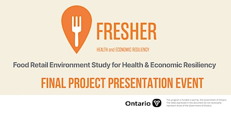 FRESHER Project Presentation tickets