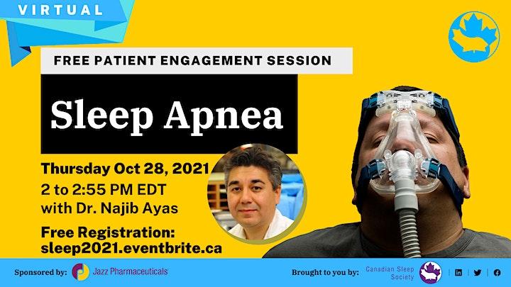 Sommeil & Troubles du sommeil-Conférences & Séances avec patient gratuites image