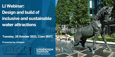 LI Webinar: Design and build of inclusive and sustainable water attractions tickets