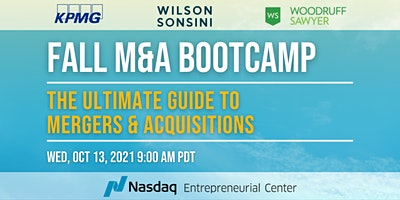 Fall M&A Bootcamp: The Ultimate Guide to Mergers & Acquisitions