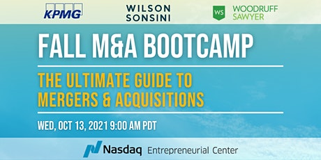 Fall M&A Bootcamp: The Ultimate Guide to Mergers & Acquisitions Tickets