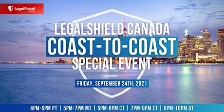 LegalShield Canada Coast-to-Coast Special Event tickets