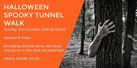 SPOOKY HALLOWEEN TUNNEL TRAIL  (Ending in the pub) tickets