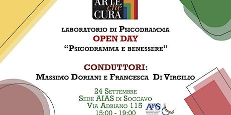 Open day: Psicodramma e benessere biglietti