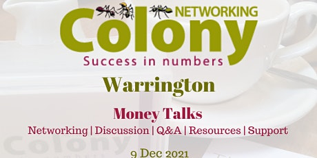 Colony Warrington - Networking and Speaker Event tickets