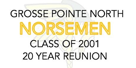 Grosse Pointe North Class of '01 - Twenty Year Reunion tickets