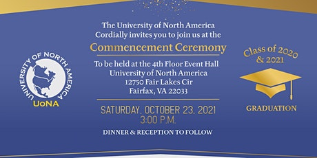 UoNA Commencement & Reception 2021 tickets
