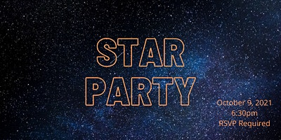 Things Are Looking Up – Star Party