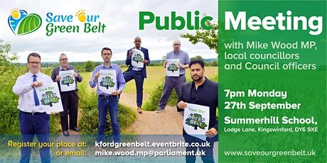 Save Our Green Belt in Kingswinford & Wall Heath tickets