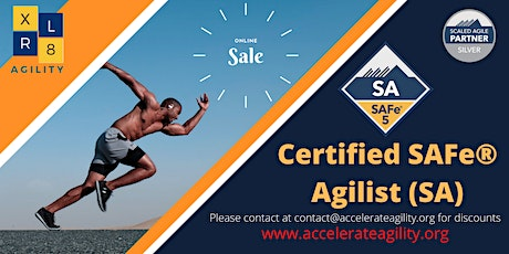 Leading SAFe with Certified SAFe® Agilist (SA) tickets