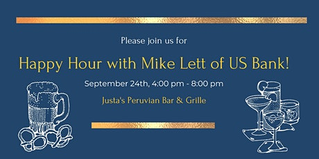 Happy Hour with Mike Lett of  US Bank! tickets