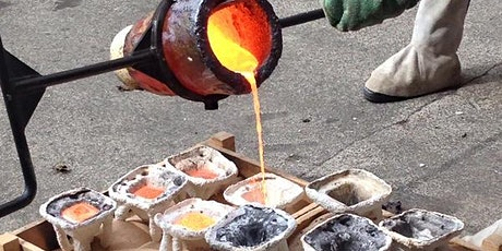 Bronze Casting Course (18, 19, 20 & 25, 26 & 27th March 2022) tickets