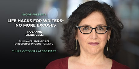 Life Hacks for Writers with Rosanne Limoncelli tickets