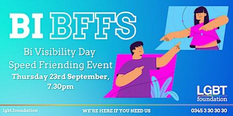 Bi BFFs: a Bi Programme online Speed Friending event tickets