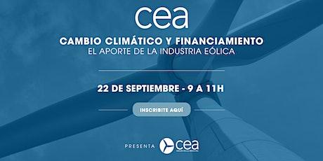Cambio Climático y Financiamiento entradas