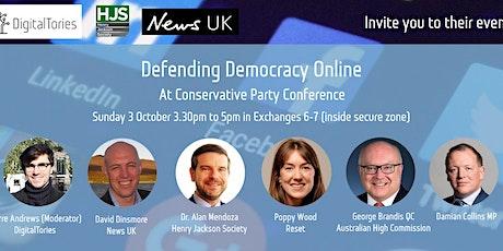 Defending Democracy Online tickets