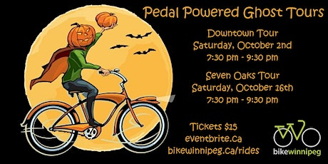 Pedal Powered Ghost Tour - Downtown tickets