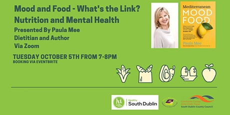 Mood and Food- What's The Link? Mental Health and Nutrition with Paula Mee tickets