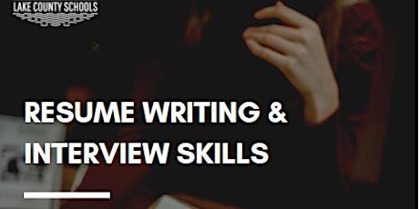 Resume Writing + Interview Skills tickets
