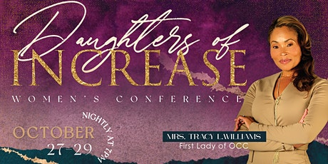 2021 DAUGHTERS OF INCREASE CONFERENCE tickets