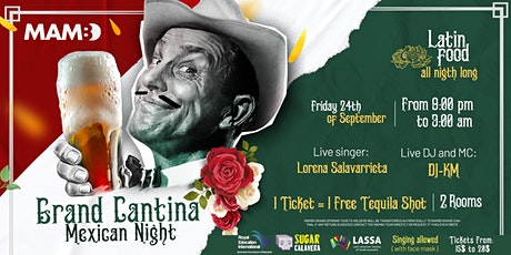 MAMBO - Grand Cantina - Mexican Night - 2 Rooms: Drinks & Food tickets