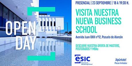 OPEN DAY Visita nuestra NUEVA Business School entradas