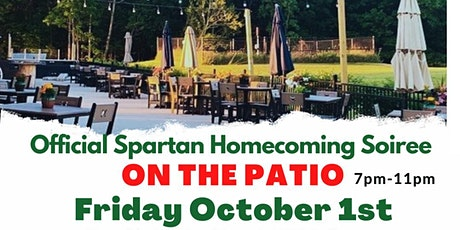 Spartan Homecoming Soiree - On the Patio tickets