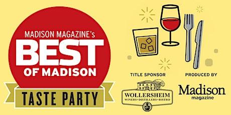 Best of Madison Taste 2021 tickets