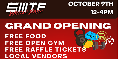 Self Made Training Facility - GRAND OPENING tickets