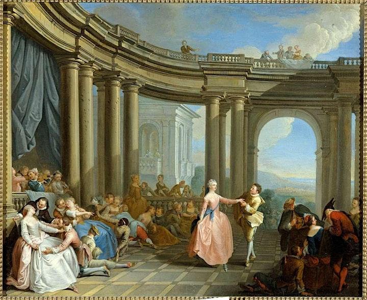 """Imagen de """"Iniciación a la Belle Danse: Minuet"""" con Carolina Bonacci"""