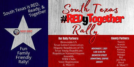 South Texas #REDyTogether Rally tickets