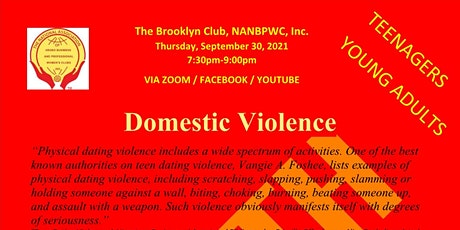 Domestic Violence - Youth / Young Adults tickets