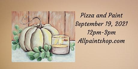 Pizza and Paint Farmhouse Fall Pumpkin tickets