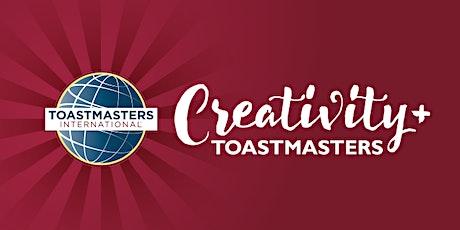 Creativity+ Ottawa Toastmasters Meeting (ONLINE) tickets