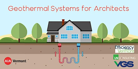 Geothermal Systems for Architects tickets