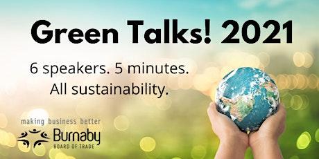 Green Talks! Sustainability Forum tickets