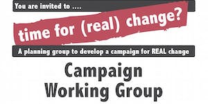 Time for (Real) Change - Campaign Planning Group...
